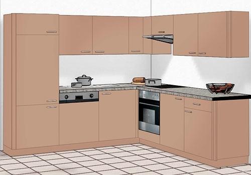 einbauk chen chicago. Black Bedroom Furniture Sets. Home Design Ideas